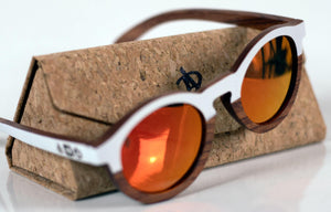 Artist Anon Brighton - Will's Rose Wood Sunglasses - Sunglasses - Bamboo