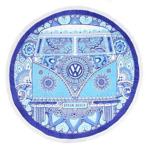 artist-anon,VW Peace & Love Camper Towel,Towel