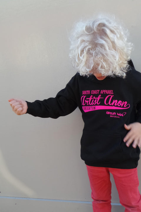 Kid's So Cal Hoodie Black - Artist Anon Brighton - Kids -  - 2