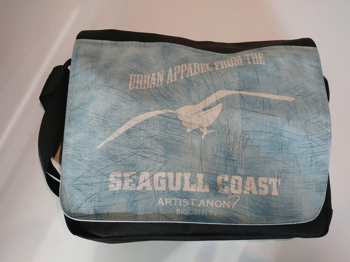 Seagull Coast Messenger Bag - Artist Anon Brighton