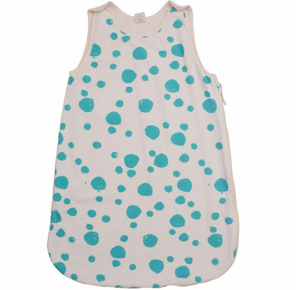 Noé & Zoë Turquoise Dot Sleep Sack