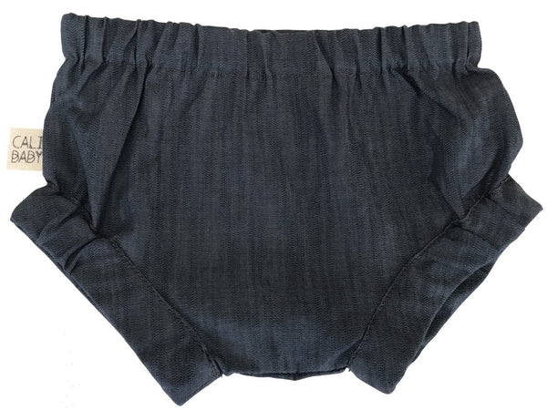 Cali Baby Bloomers Dark Chambray Denim