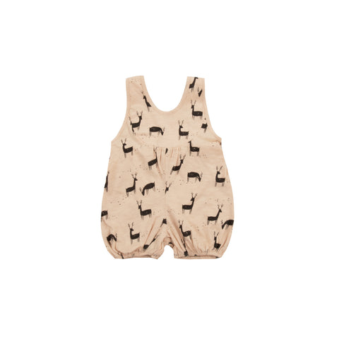 Rylee & Cru Deer Playsuit in Blush