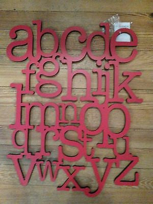 ABC Alphabet Wall Wood Cut out Sign