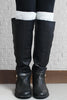 Pearl Metallic Diamond Pattern Boot Cuffs   ((NEW))