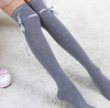 Thigh-High Ribbon Socks