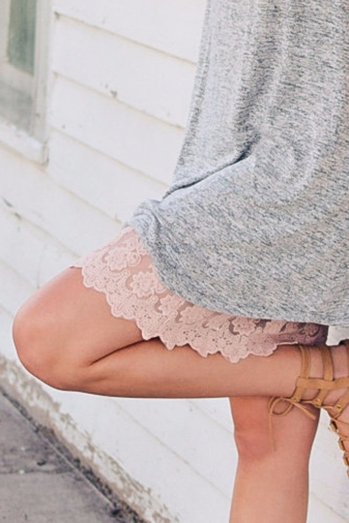 Blush Lace Dress Extender