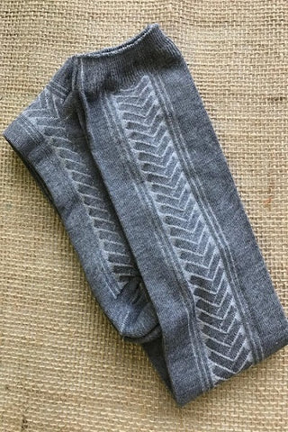 Knee High Chevron Patterned Boot Socks ((NEW))