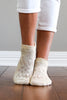 Ivory Pointelle Ankle Socks