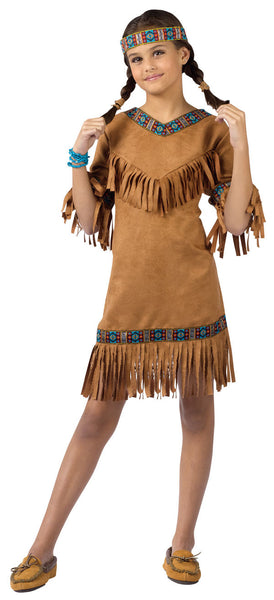 American Indian Girl Costume Childs