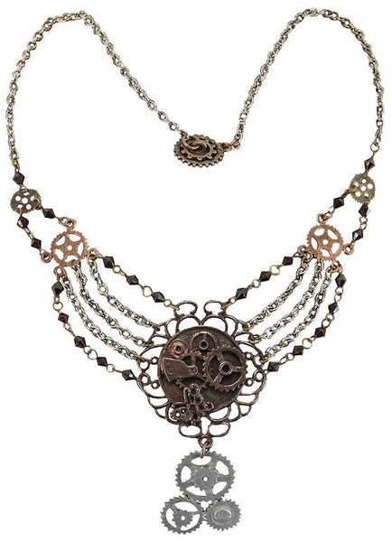 Chain Gear Necklace
