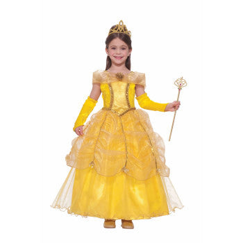 Golden Princess Costume Childs