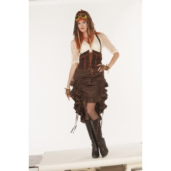 Steampunk Saloon Girl Skirt