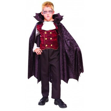 Vampire Costume Childs