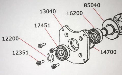 .67 TO-BE Outboard PTO Assembly Parts