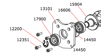 .46 TO-BE Outboard PTO Assembly Parts
