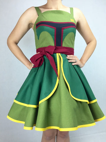 Star Wars Inspired Pin-up Dress