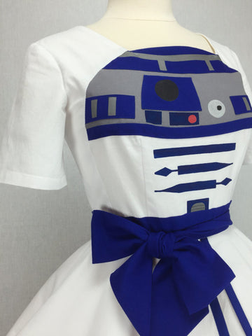 Star Wars Inspired Pin-up Dress with Sleeves