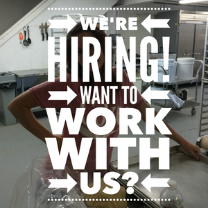 We're hiring a full-time Baker. Interested? Read on...
