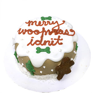 Merry Woofmas Cake (Personalized)