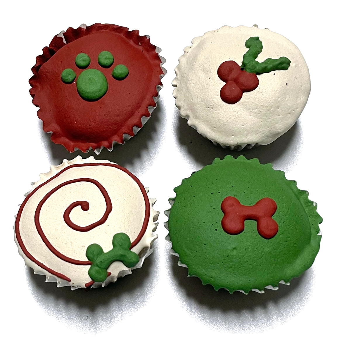 Christmas Mini Cupcakes (Shelf Stable) case of 15
