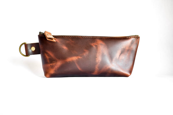 Brand New Leather Pencil Pouches | Leather Clutch | Leather Wristlet