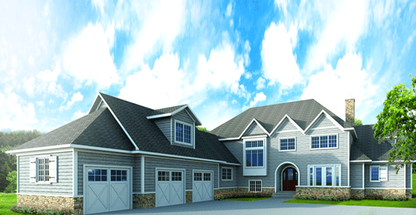 Residential 3D Exterior Rendering
