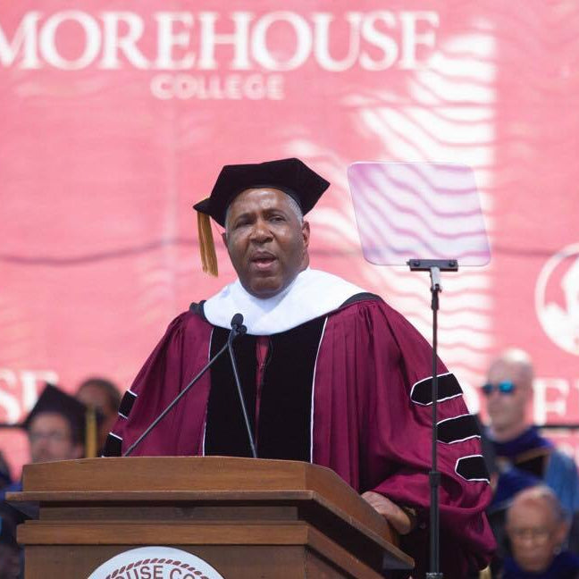 Morehouse College Grads Get A Huge Blessing!
