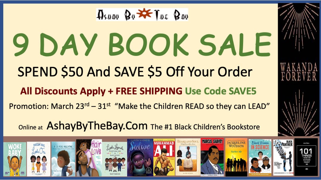 9 DAY BOOK SALE  Thru March 31st  Only!!