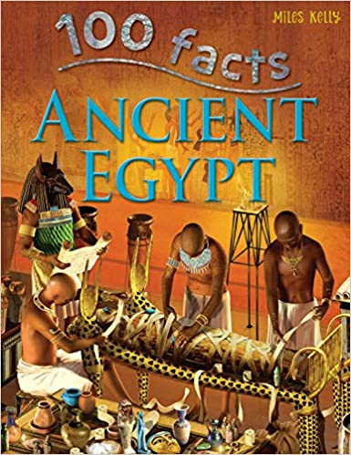 100 Facts Ancient Egypt- Pharaohs, Tombs, Educational Projects, Fun Activities, Quizzes and More! Media 2 of 2