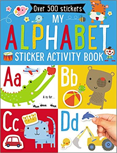My Alphabet Sticker Activity Book