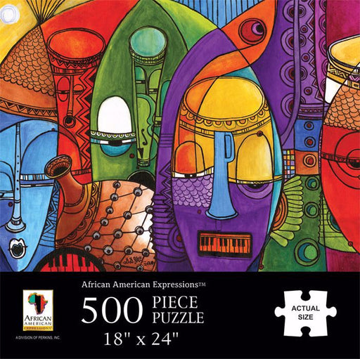 African Masks Puzzle at AshayByTheBay.com