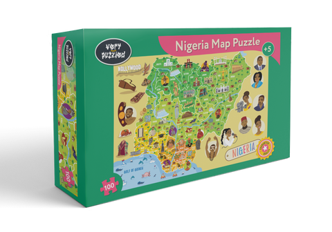 Nigeria Map Giant Jigsaw Puzzle