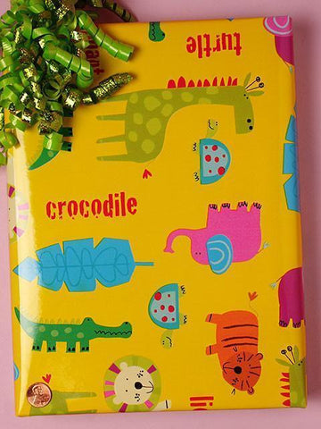Gift Wrap #1 Baby Animals Celebrate