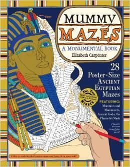 Mummy Mazes: A Monumental Book
