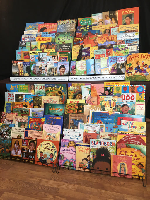 Ashay's Spanish Bi-Lingual Children's K-6 Collection 121 Books