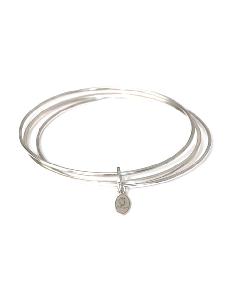 JANICE - Sterling Silver Bangle Trio