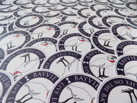 Free Stickers - Bayview Prep® Coastal Clothing