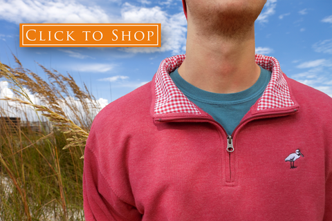 Shop 1/4 Zip Pullovers - Bayview Prep® Coastal Clothing