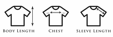 Short Sleeve Shirts Clothing Measurements - Bayview Prep® Coastal Clothing