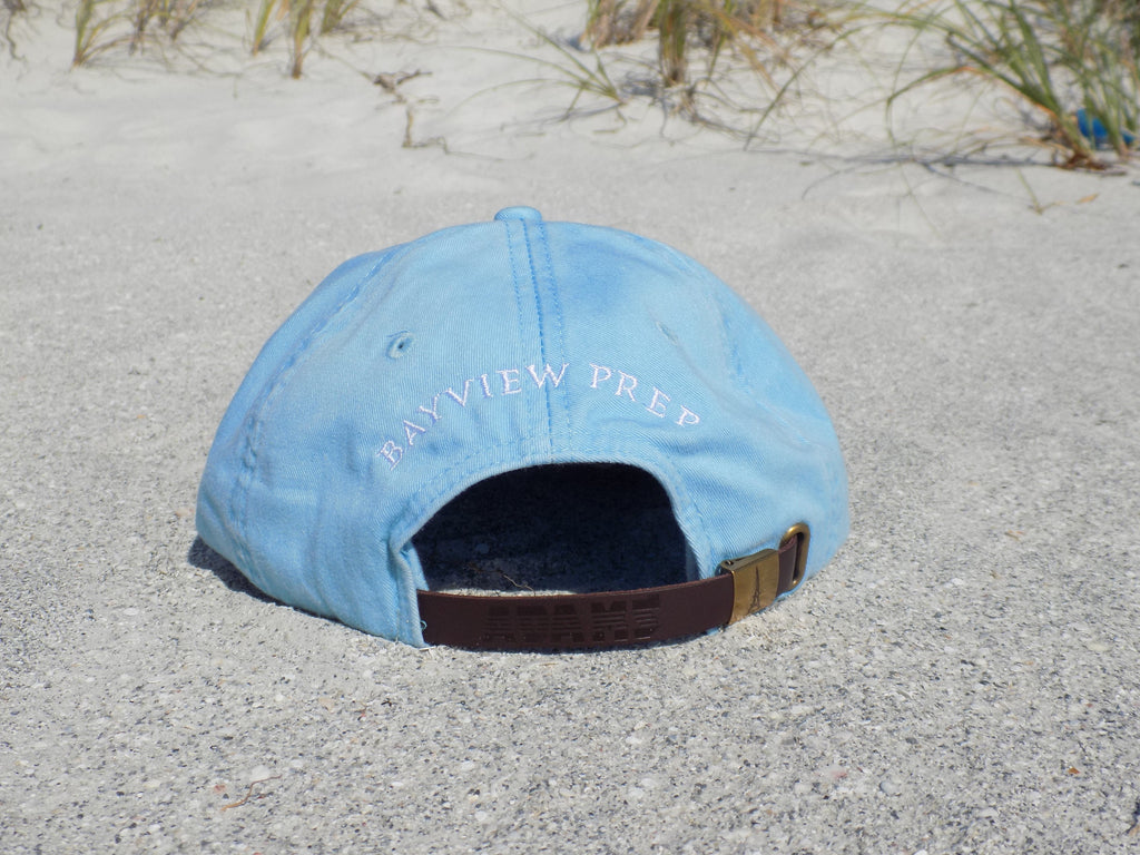 Sky Blue Hat - Back - Bayview Prep