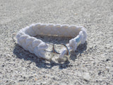 White Anchor Bracelet - Bayview Prep