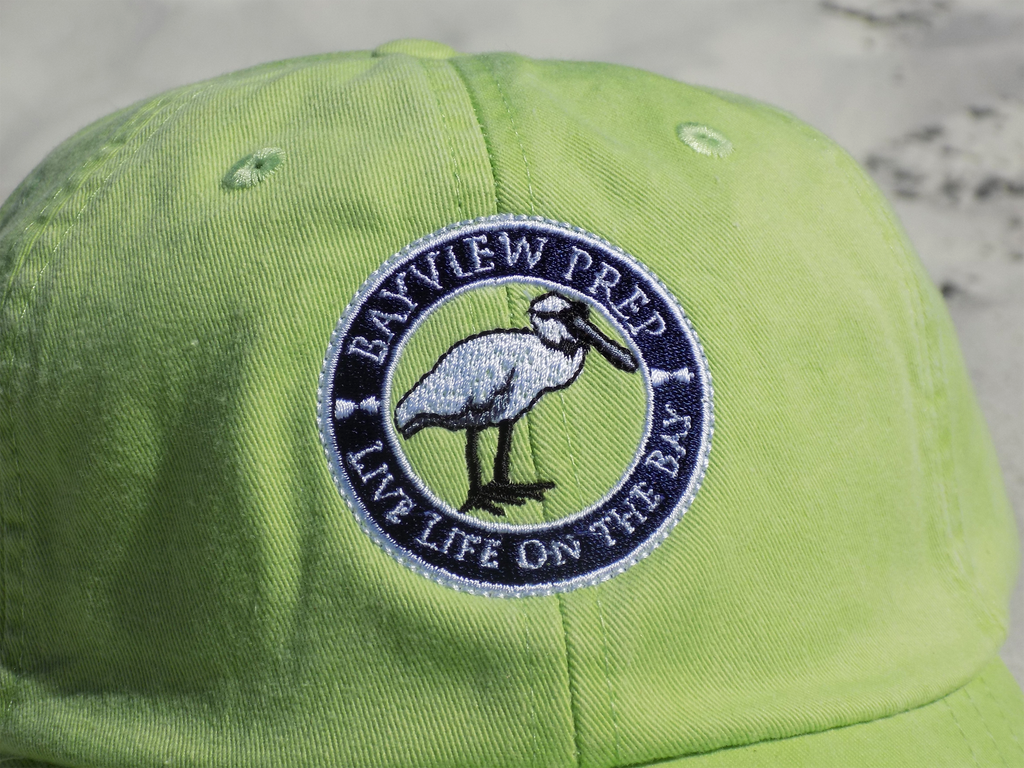 Hat - Key Lime - Bayview Prep
