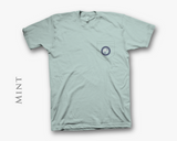 Light Aqua Anchor Shirt - Front - Bayview Prep® Coastal Clothing Co.