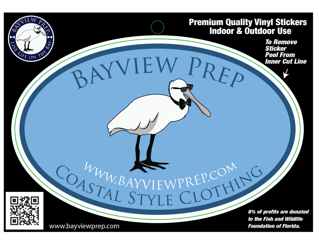 Bayview Oval Sticker - Bayview Prep