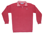 Crimson Fleece Pullover - Bayview Prep