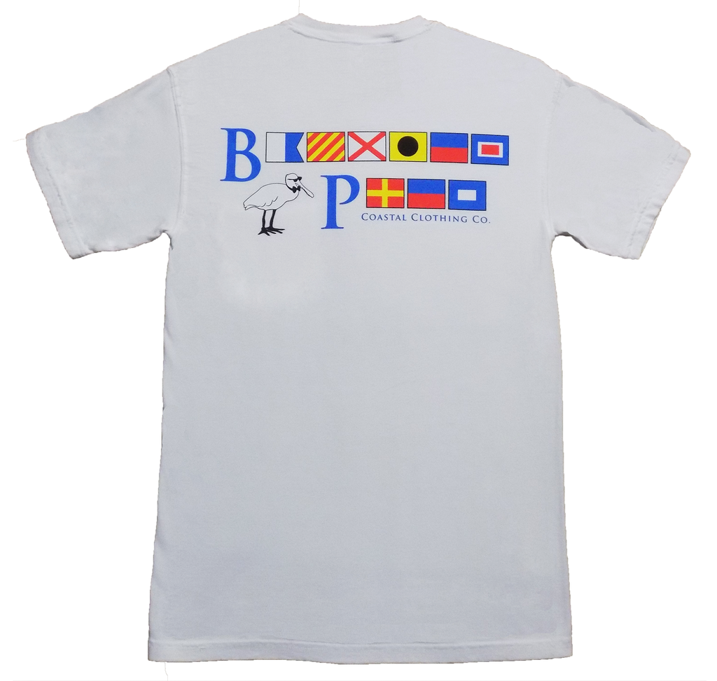 Bayview Signal Flags in Sand Key White - Bayview Prep