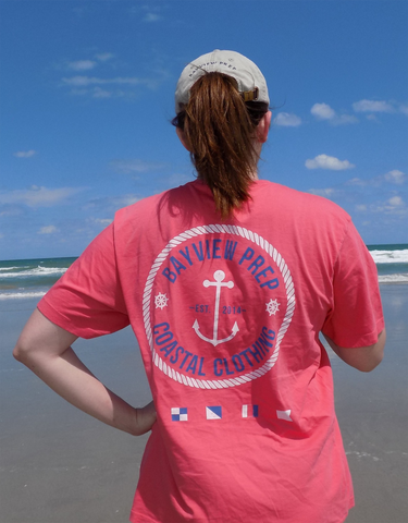 Anchor Shirt in Beach Blue