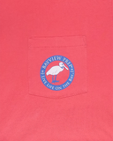 Anchor Shirt in Snapper Red - Bayview Prep