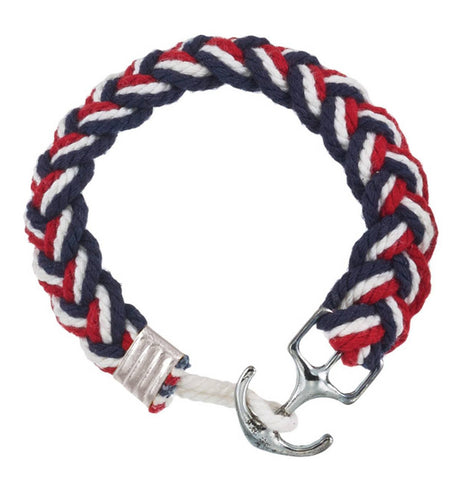 White Anchor Bracelet